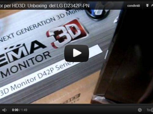 LG D2342P-PN: recensione Cinema Monitor 3D 24 pollici