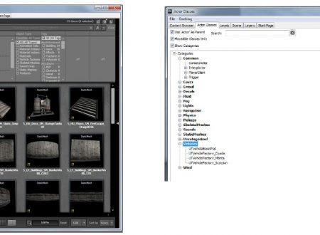 UDK Tutorial: il magico Content Browser