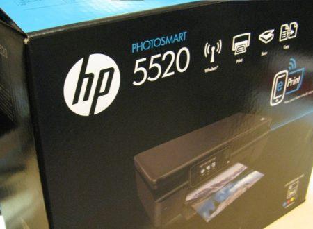 HP Photosmart 5520: stampante economica ma funzionale