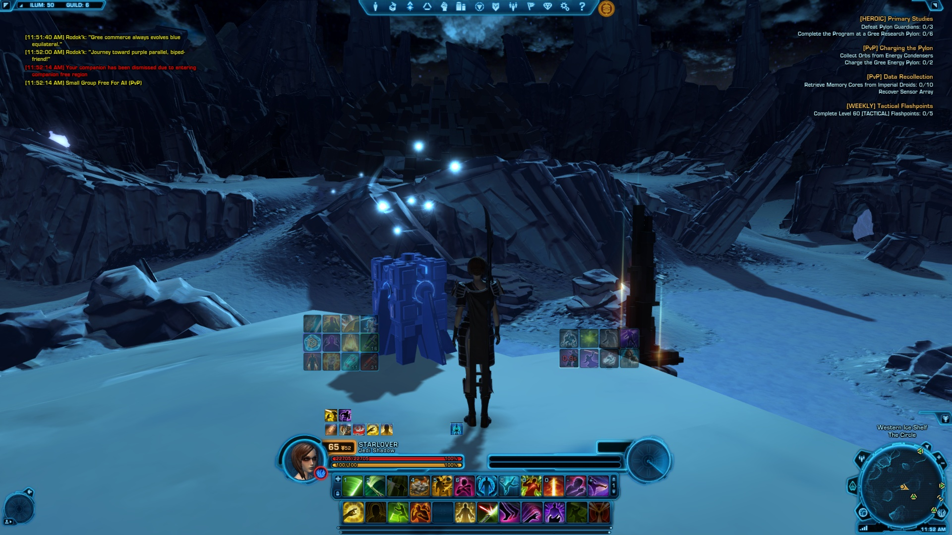 Relics of The Gree SWTOR: PvP Orb