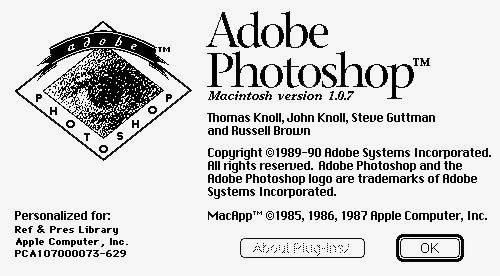 Photoshop gratuito il codice sorgente della prima versione, anche al Museo!
