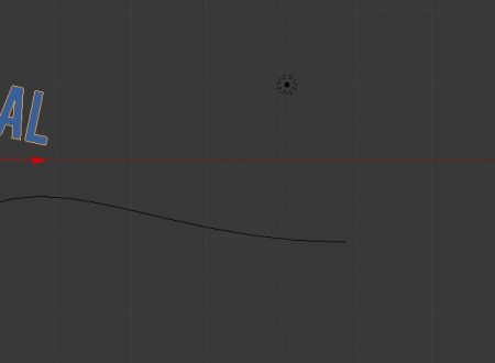Guida Blender: creare testo curvo e modificarlo a piacere | Tutorials rapidi