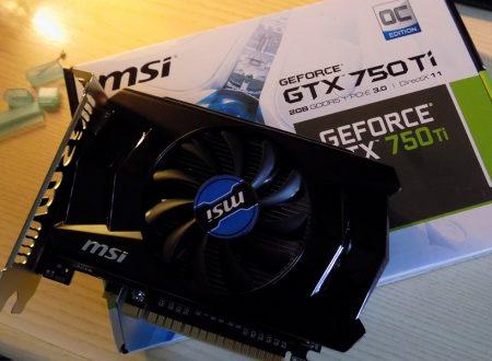Nvidia GTX 750Ti | GPU potente ma senza alimentazione 6pin?