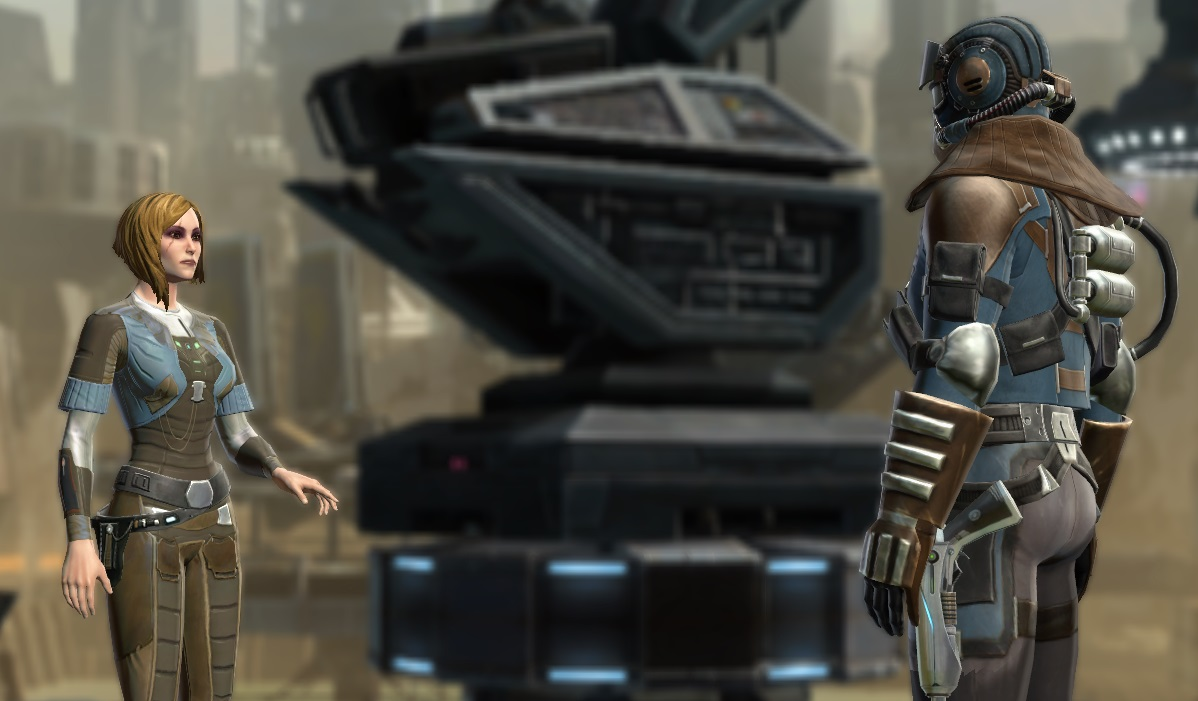 swtor story line smuggler shadow of revan