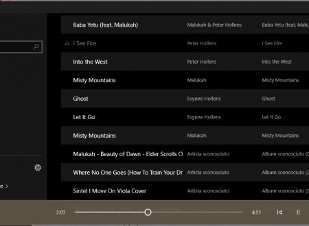 Groove o Windows Media Player? Chi vincerà su Windows 10, non lo so! [Ma WMP usa meno RAM…]