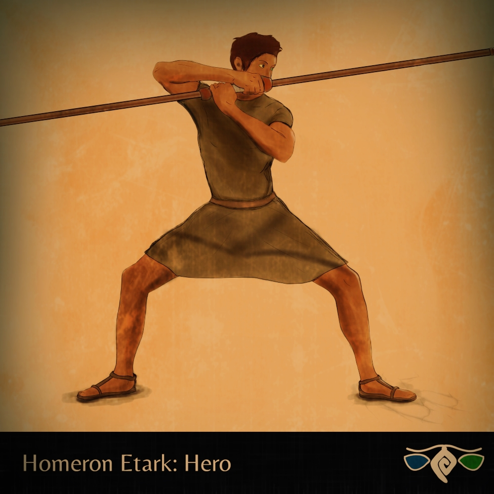 Hero di Homeron Etark