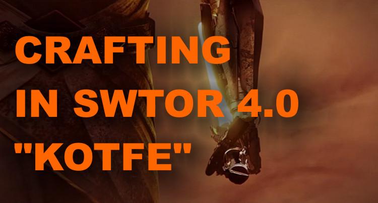 guida al crafting in swtor allen empire