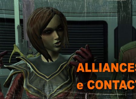 Fallen Empire: guida ai nuovi companions Alliance & Contacts