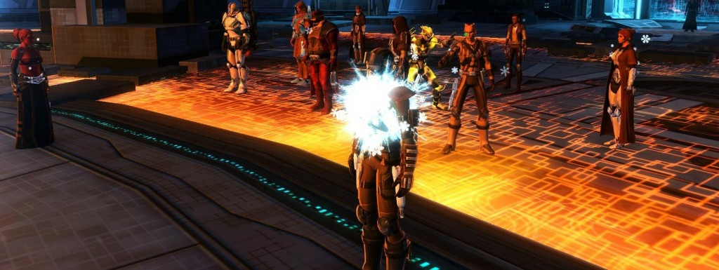 Life Day event in SWTOR