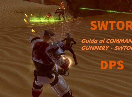 SWTOR: Guida al Commando Gunnery 4.0 – (DPS)