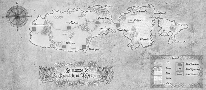 Mappa di Merlonia