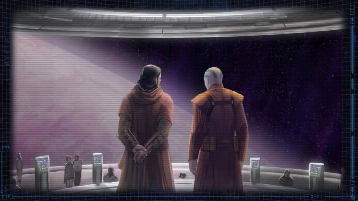 Revan e Malak in Star Wars The Old Republic