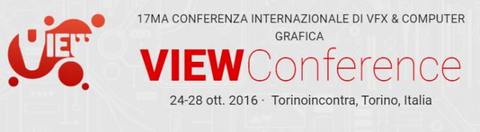 VIEW Torino conferenza effetti speciali