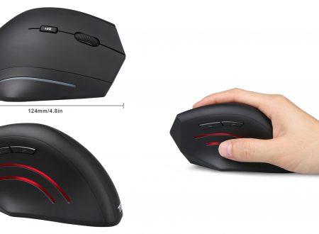 Un mouse per prevenire lo stress ai tendini | Vertical mouse Tecknet