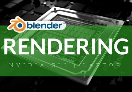 Rendering con Blender su doppia scheda video (SLI) su laptop Lenovo