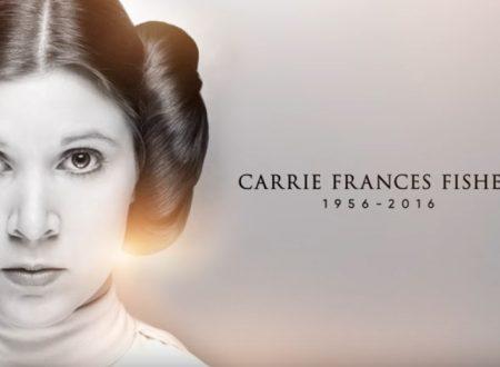 Tributo a Carrie Fisher, TRAILER di Gli Ultimi Jedi e tanto George Lucas. E siamo a 40 anni