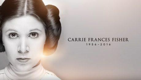 Tributo a Carrie Fisher