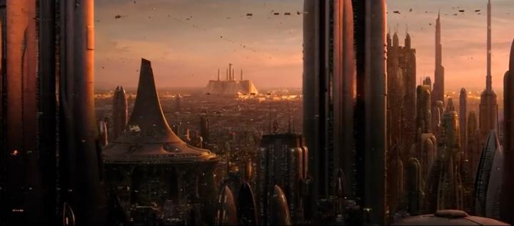 Star Wars Episodio III - La computer grafica