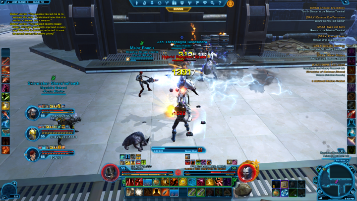 SWTOR dungeons flashpoints