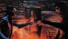 Rey e Kylo Ren protagonisti di Gli Ultimi Jedi