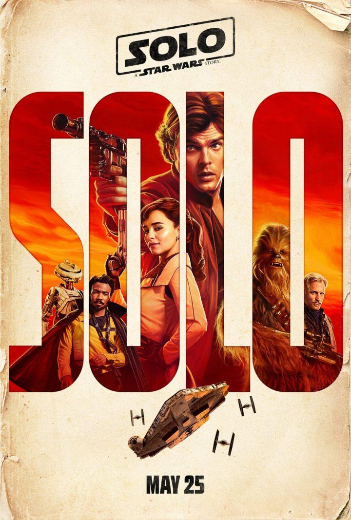 Solo e Qi'Ra - Poster Star Wars