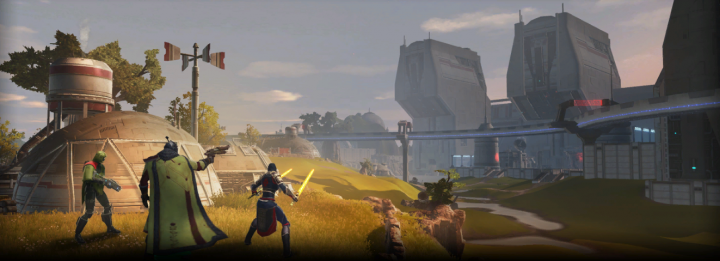 Star Wars The Old Republic - Dantooine (1)