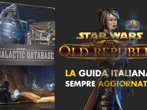 SWTOR Guida italiana completa: Livelli iniziali, end game, discipline e classi