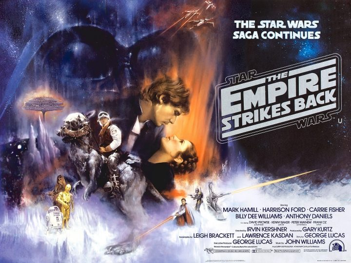The Empire Strikes Back - Star Wars poster